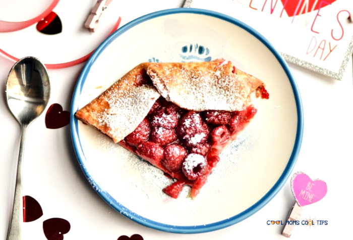 easy raspberry galette recipe