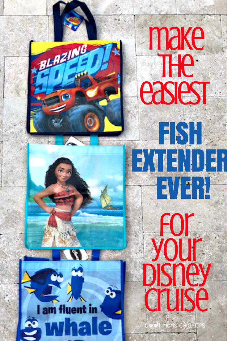 Going on a Disney cruise and need a fast and easy fish extender? We have it for you! It will be fast to make! A hit for your next Disney Cruise Fish Extender fun