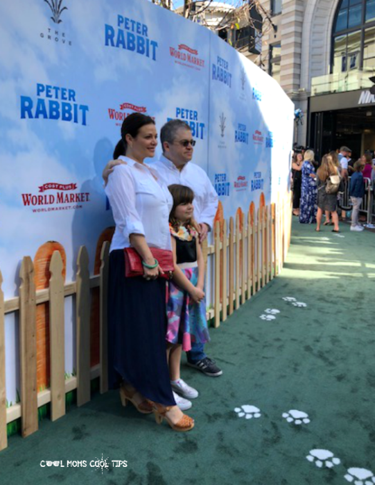 peter rabbit premiere