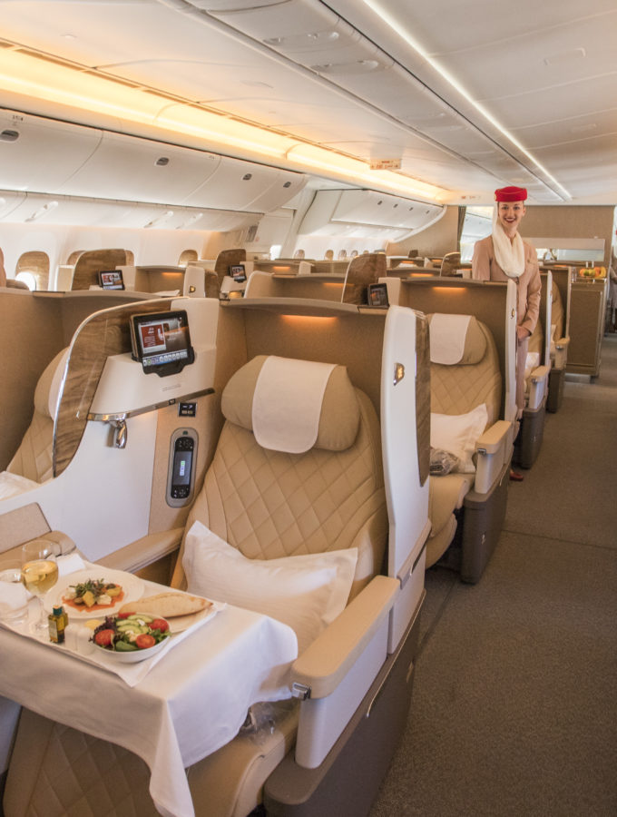 Cloud Nine Dream with Top-Tier Emirates Business Class