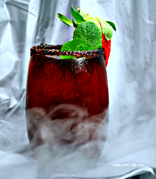 enigmatic black widow cocktail