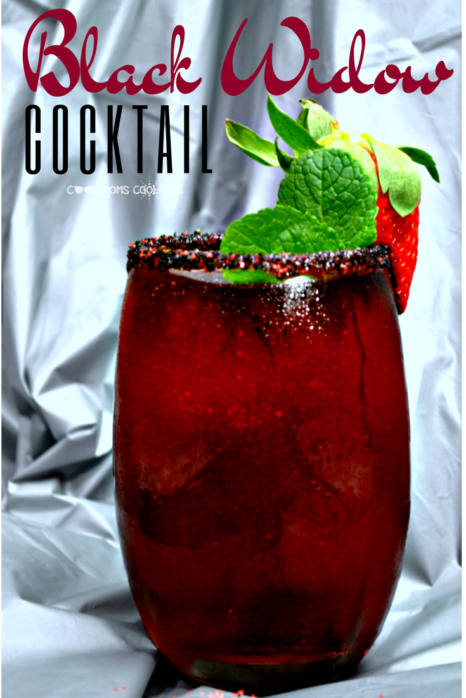 Have a marvel themed party? do include this amazing black widow drink that can be alcoholic or not!