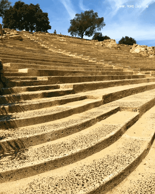amphitheater at Mt. Helix park in San Diego