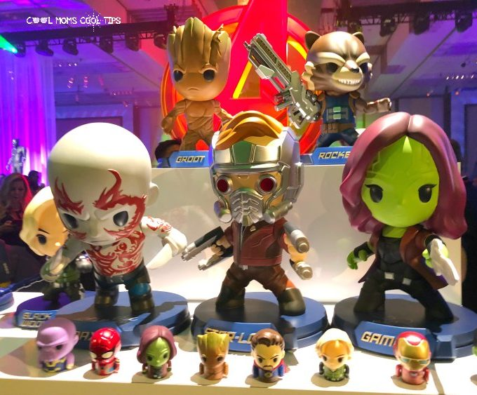 Infinity War after party display