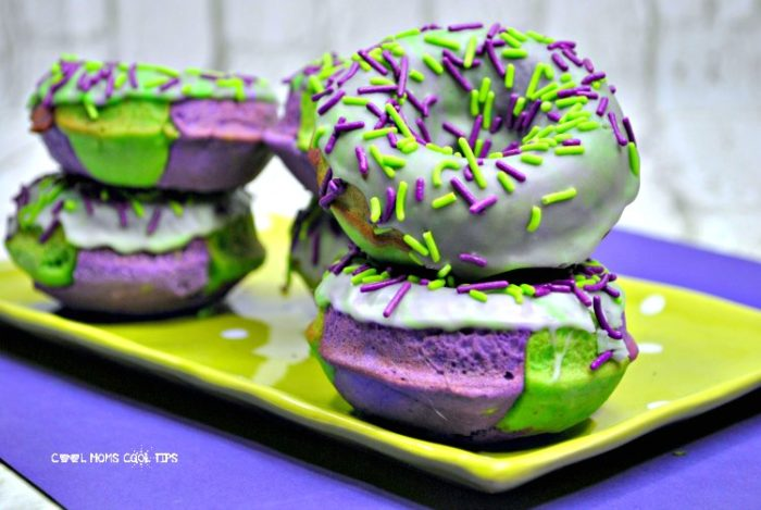 the incredible hulk delicious donuts