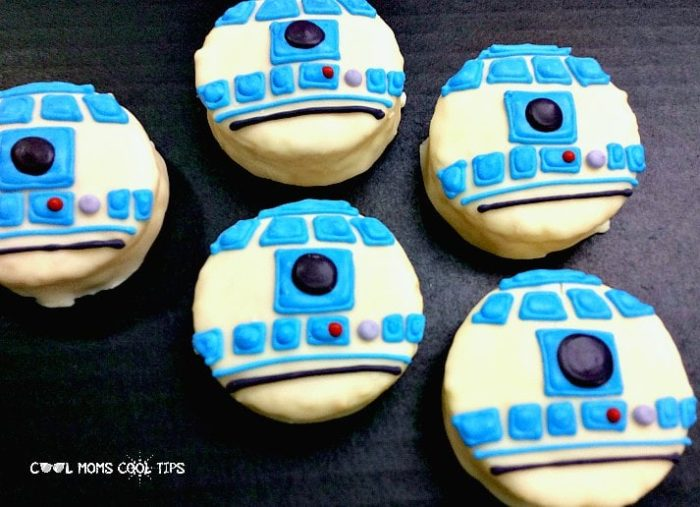 How to decorate Star Wars Cookies