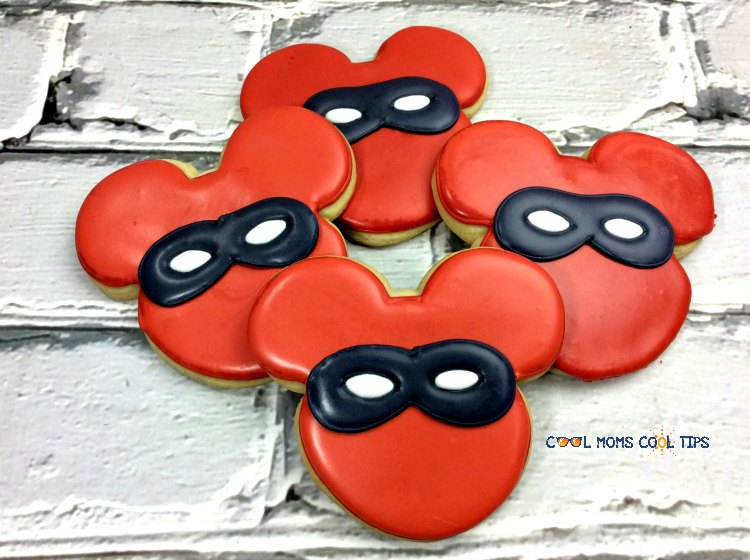 how to make the incredibles mickey mouse cookies