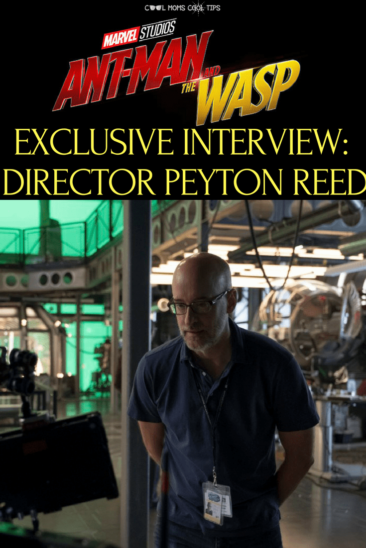 Love the Marvel movie AntMan and The Wasp?  Get insights from director Peyton Reed in our exclusive interview!