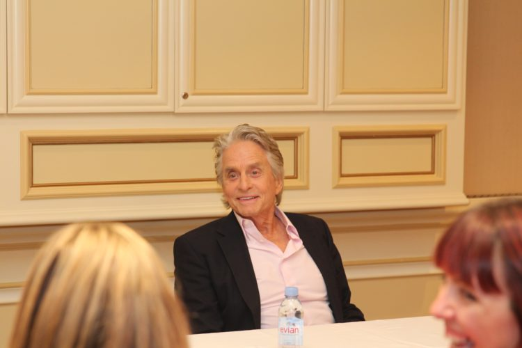 Michael Douglas Antman and The Wasp Exclusive Interview
