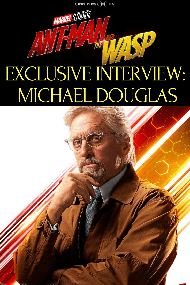 Did Micheal Douglas enjoy suiting up? We share that and much more from our Michael Douglas AntMan and The Wasp exclusive Interview