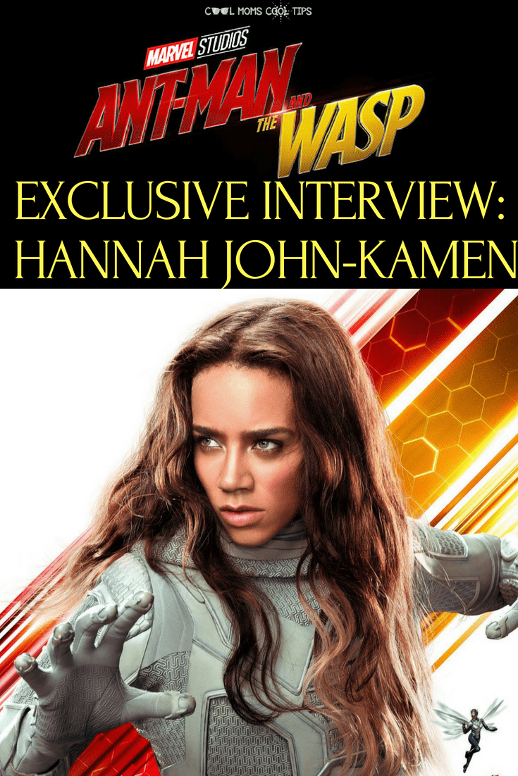 Who is The Ghost? Marvel newcomer Hannah John-Kamen brings this MCU villain to life in AntMan and The Wasp. Read our exclusive interview with her and discover what it is like suiting up as a villain