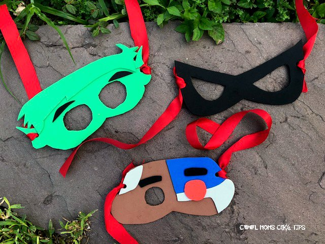 How to DIY Teen Titan Masks