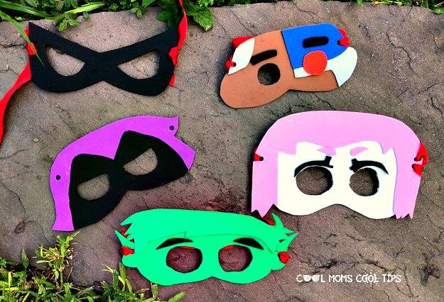 How to DIY Teen Titans Masks