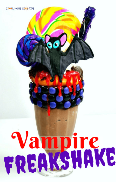 Need a vampire delicious treat? Great for Halloween and themed parties or year round sweet fun we have the how to make a friendly vampire freakshake recipe for you!
