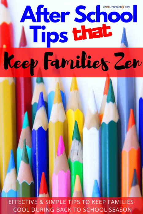 Ready for Back to School? We have tips to help you keep your family cool, chill and zen while you adapt to the busy back to school routines and schedules