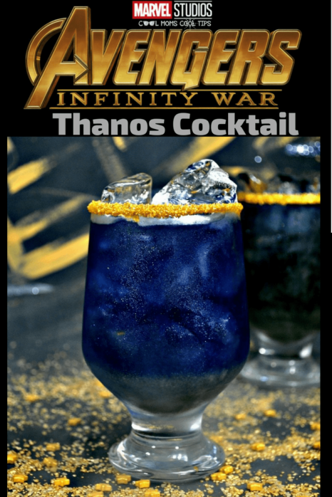 Need a Thanos drink? Having a Marvel or Infinity War party? Do not watch Infinity War without this big in flavor Marvel inspired Thanos cocktail recipe!
