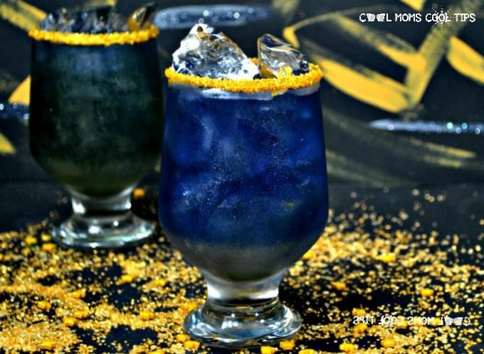 Marvel Infinity War Inspired Thanos Cocktail Recipe for a marvel themed party