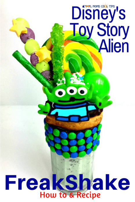 Need a freaskshake recipe out of this world? Try our Toy Story Alien Freakshake recipe! We give you all the step by step instructions