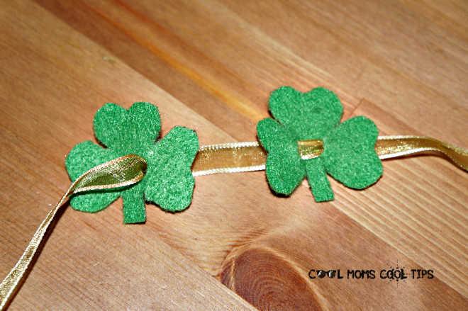 irish-clover-headband-and-bracelet-in-progess-cool-moms-cool-tips