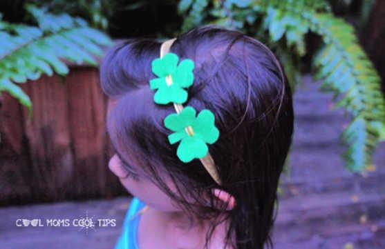 how-to-make-an-irish-clover-headband-cool-moms-cool-tips