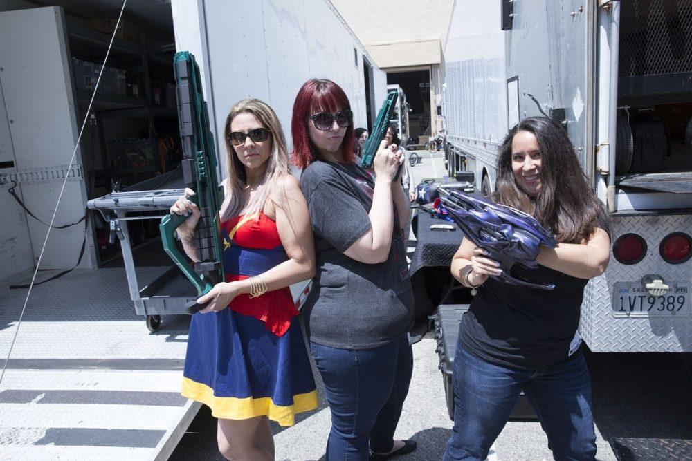 Captain-Marvel-Set-Visit-Weapons-Cool-Moms-Cool-Tips