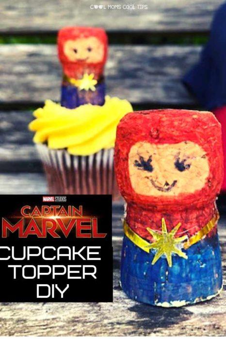 CAPTAIN-MARVEL-CORK-CUPCAKE-TOPPER-DIY-COOL-MOMS-COOL-TIPS-