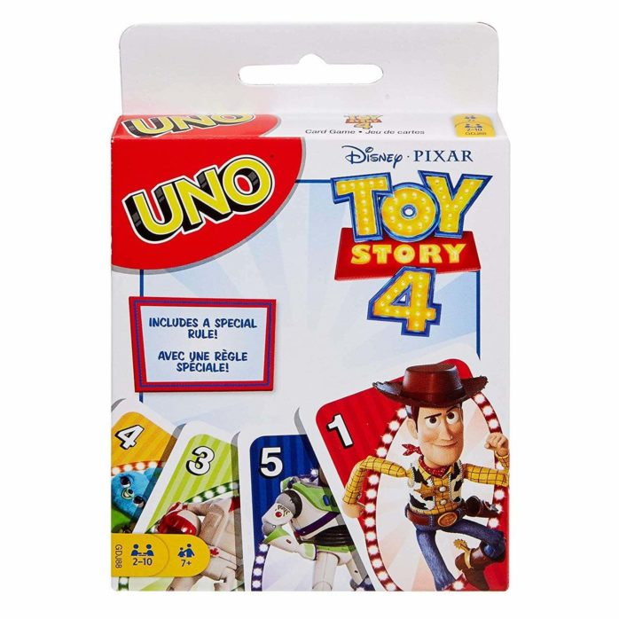 toy story 4 uno game