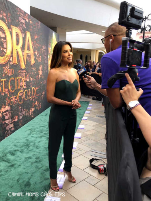 Dora and the Lost City of Gold Red Carpet - Cool Moms Cool