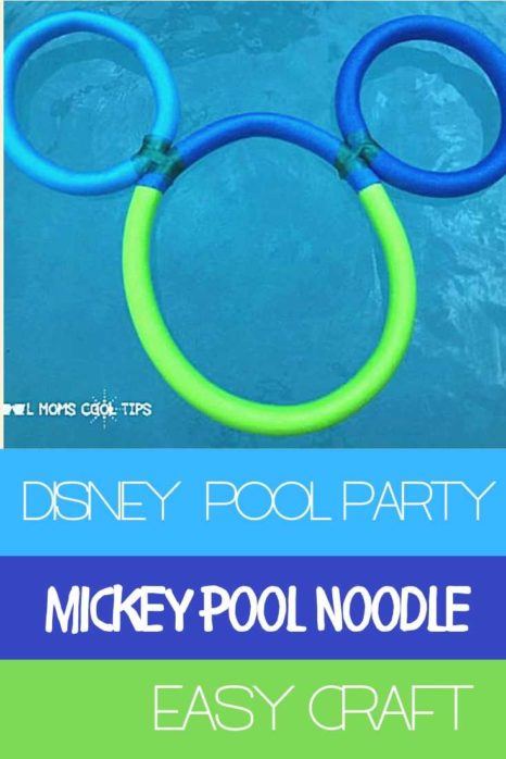 Awesome DIY Mickey Pool Noodle: versatile decor, game and magic