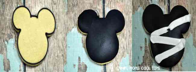Disney Mickey Sugar Mummy Halloween Cookies