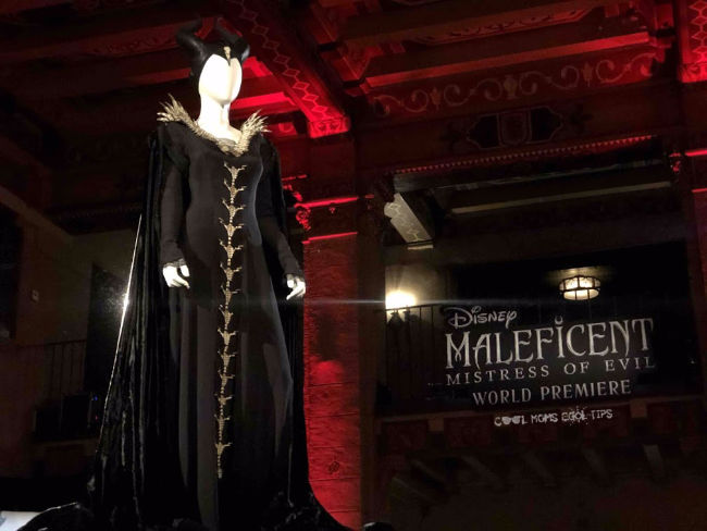 Maleficent mistress of evil costume after party