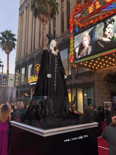 maleficent mistress of evil costume at red carpet