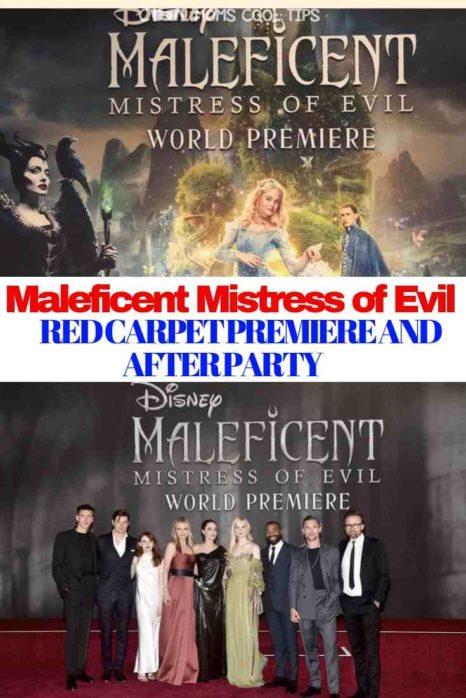 maleficent mistress of evil premiere and after party