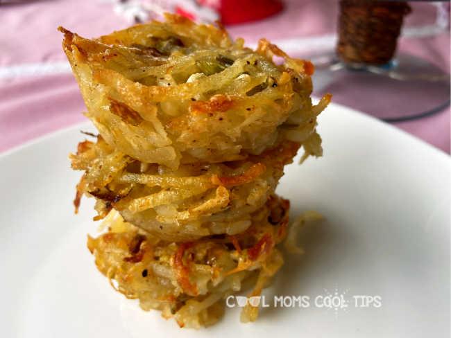 Easy Parmesan Potato Cups Recipe