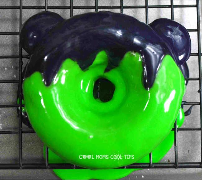 How to make Mickey Frankenstein Donut