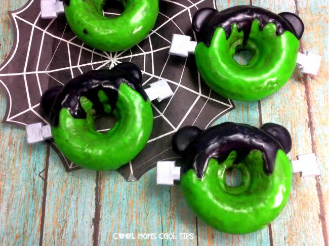 Mickey Frankensten Donut Recipe