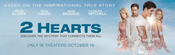 2 Hearts Movie Screening Invite