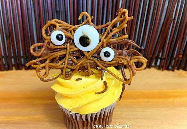 Spooky Halloween Cupcake Topper