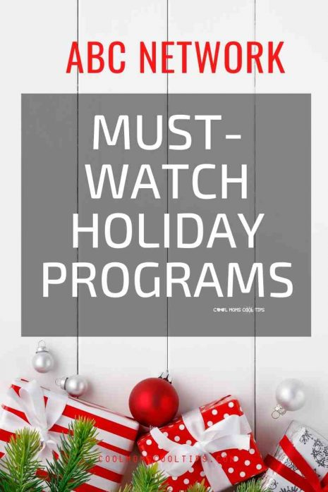 ABC holiday program schedule