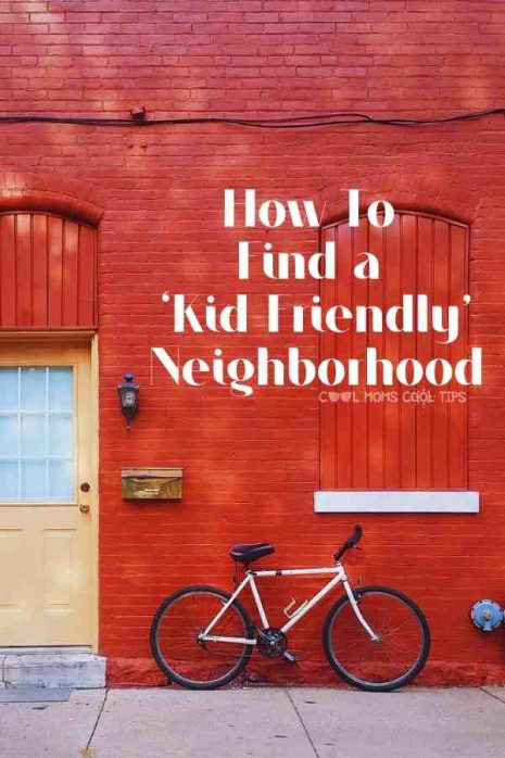 Home in a kid-friendly-neighborhood