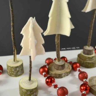 DIY Rustic Christmas Tree decor cool-moms-cool-tips