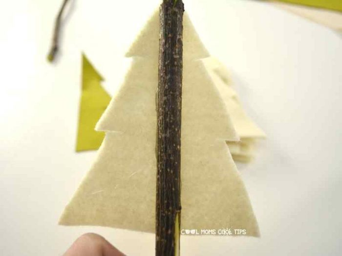 DIY Rustic Christmas Tree process cool-moms-cool-tips
