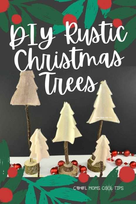 How to DIY Rustic Christmas Trees