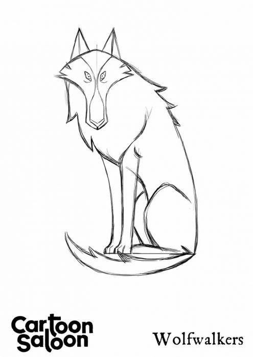 Wolftaker Wolf Model Sheet