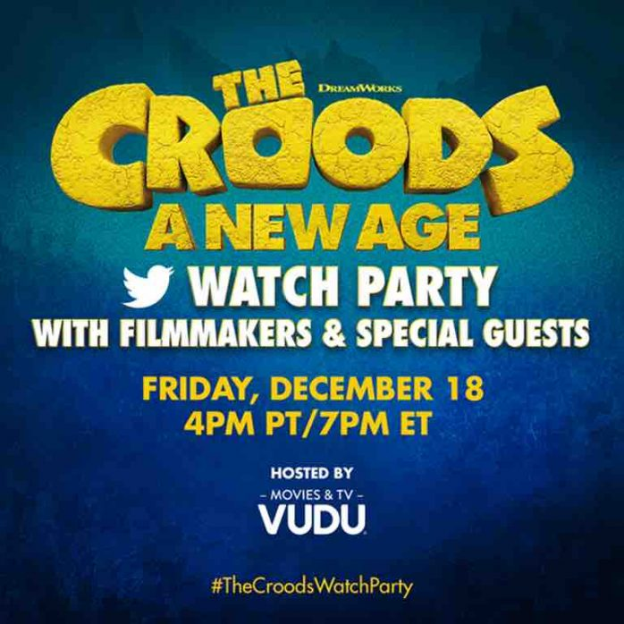 the croods watch party