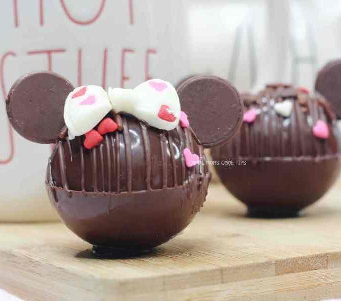 Disney hot cocoa bombs