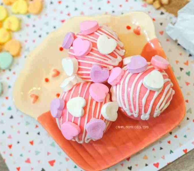 Conversation Valentine's Day Hot Cocoa Bombs Recipe