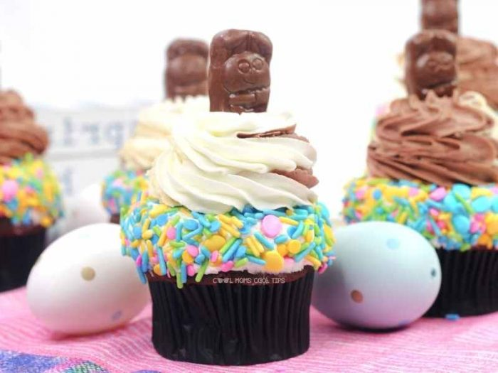 Peanut butter bunny cupcakes cool moms cool tips