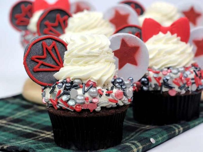 The Falcon and The Winter Soldier Cupcake