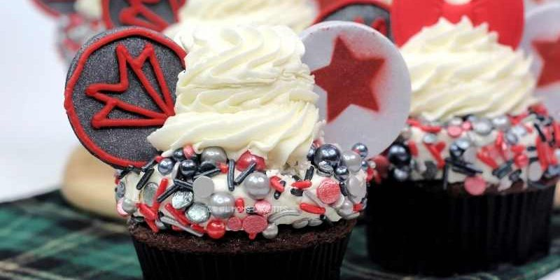 The Falcon and The Winter Soldier Cupcakes Easy Recipe